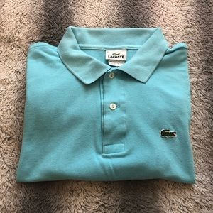 🐊 Lacoste Polo Shirt Men's 6 Light Blue